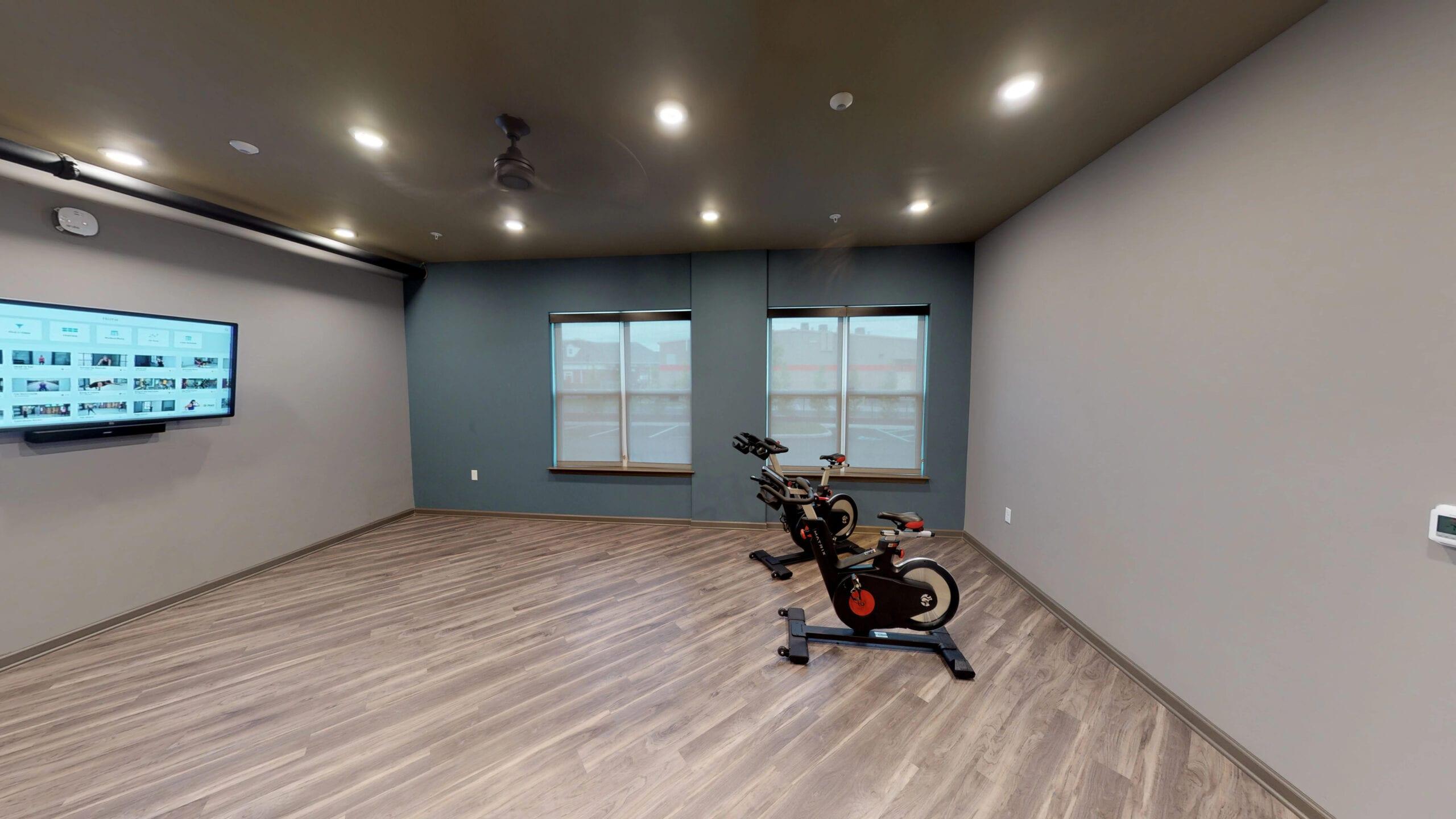Yoga and Cardio Studio with On-Demand Fitness