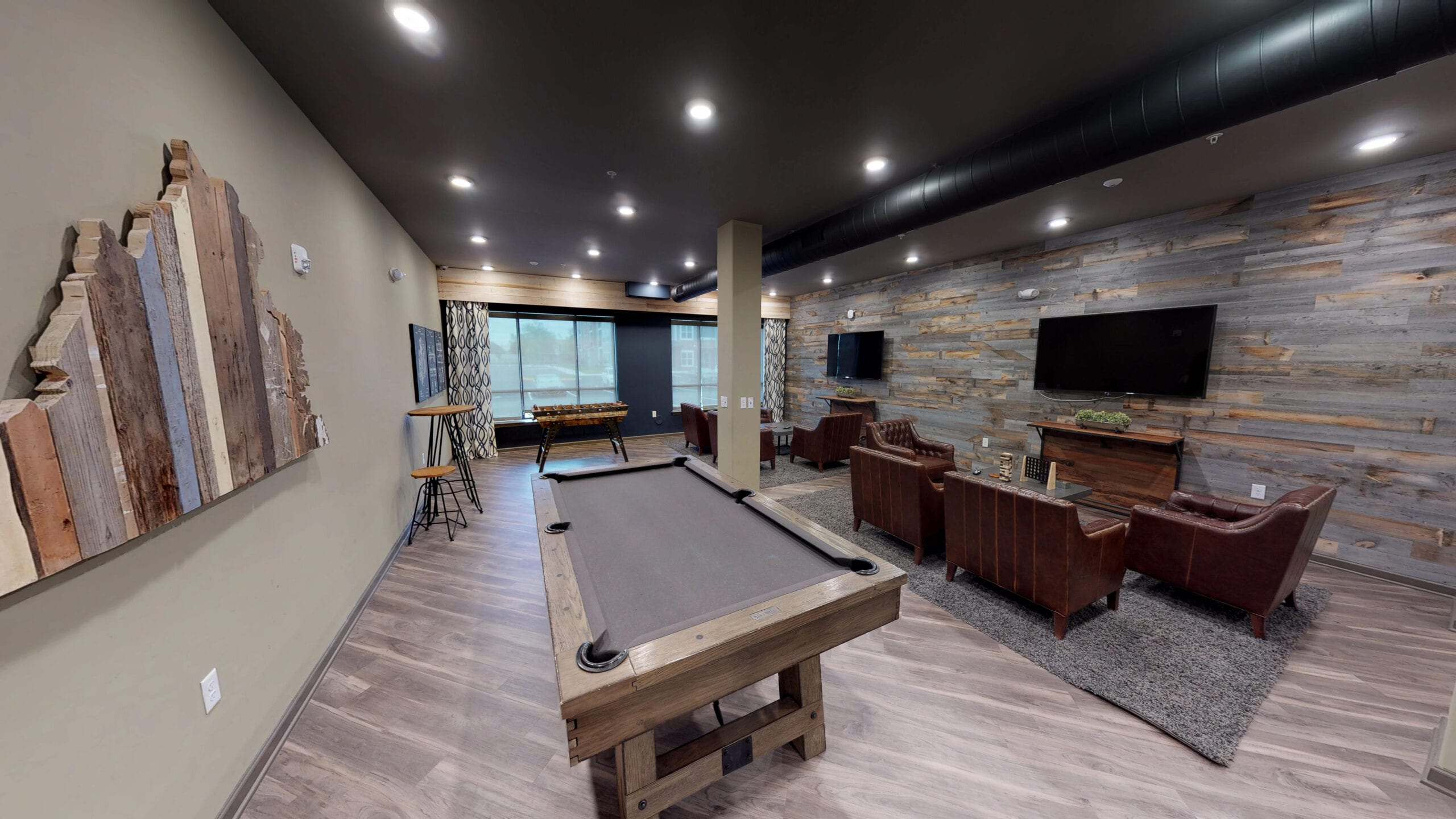 Pool Table and Entertainment Lounge