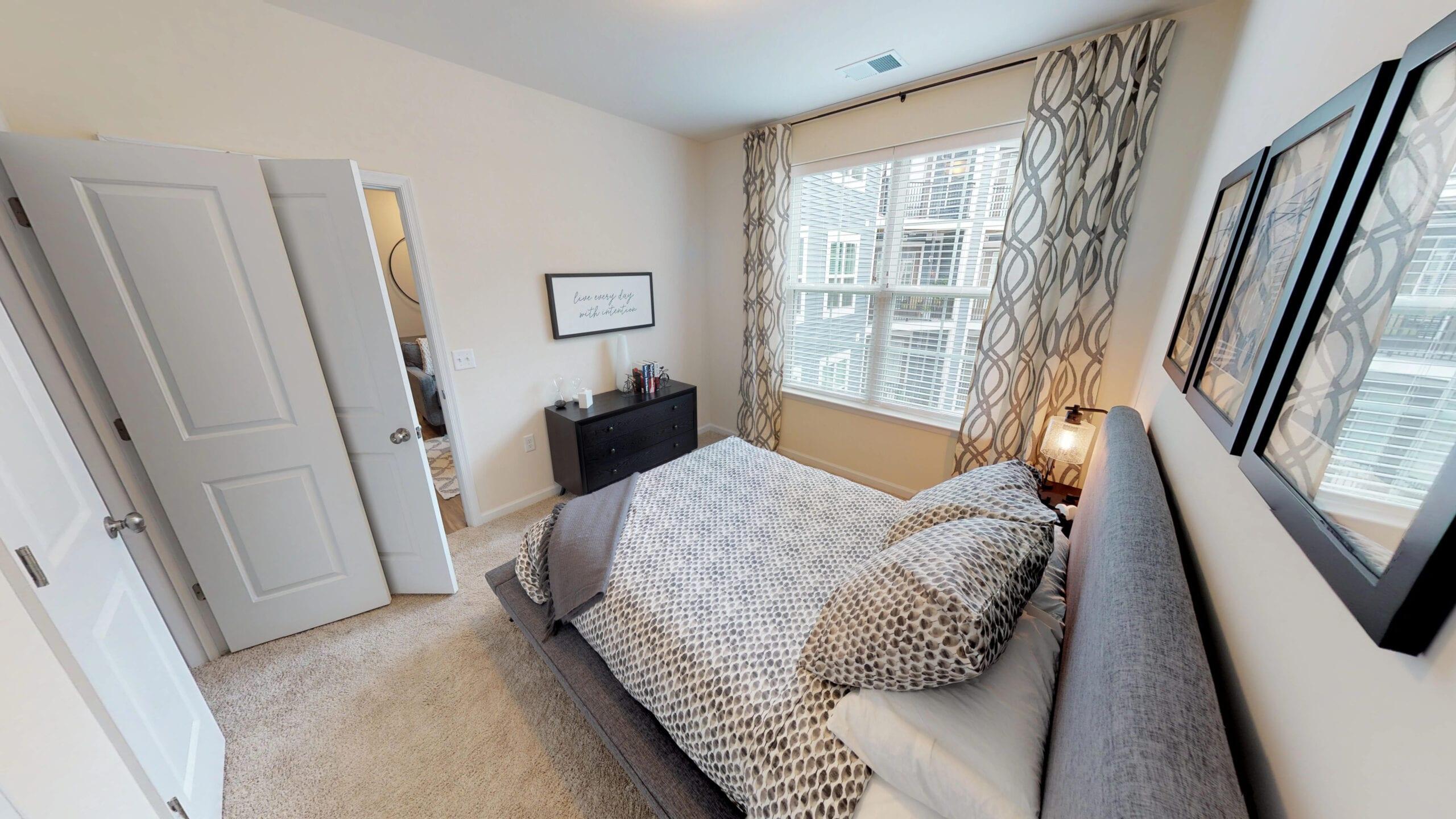 A0 One Bedroom Floor Plan